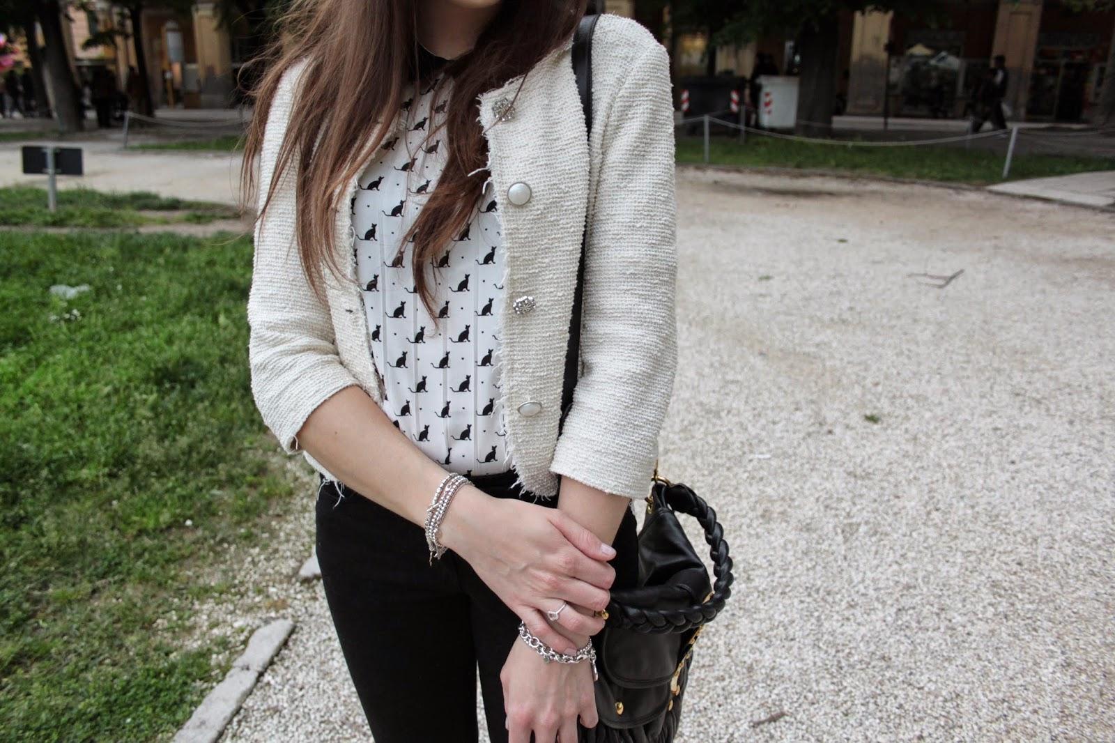 on sale 24276 0c872 camicia con gatti – Silvia Arossa