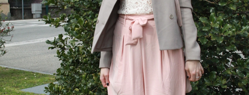 Quartz rose outfit: spring outfit inspirations, outfit primavera 2016