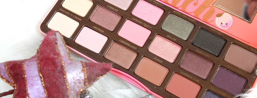 La Sweet Peach palette di Too Faced