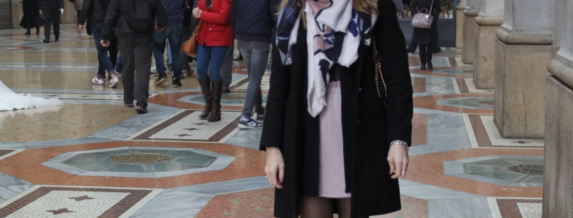 indossare colori pastello in inverno