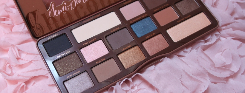 too faced semi sweet chocolate palette recensione